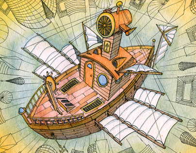Atlantis flying ships