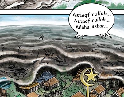Short comics Tsunami