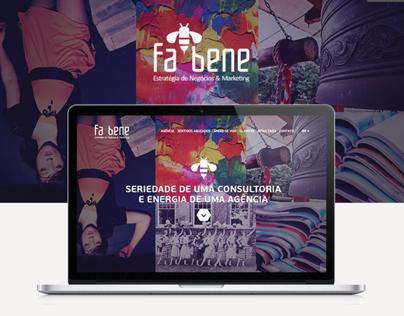 Site da Agência de Marketing Fabene