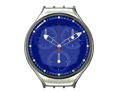 """Swatch Watch, or: my """"getting back into Maya""""-Project"""
