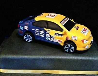 Monte Carlo Rally Cake