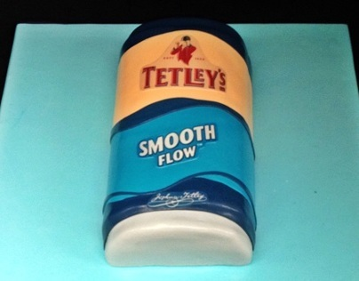 Tetley Smooth Flow Cake