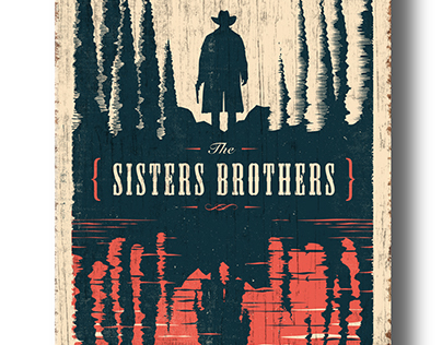 The Sisters Brothers Book Cover On Behance