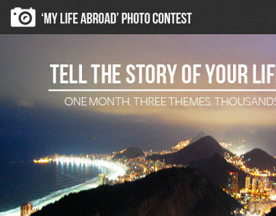 """""""My Life Abroad"""" Photo Contest"""