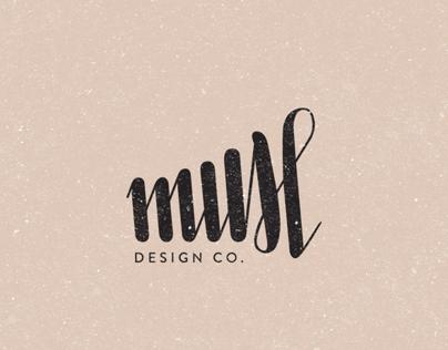 Muse Design Co. (logo + business cards)