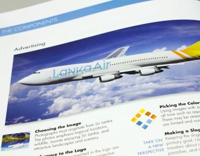 Lanka Air Branding