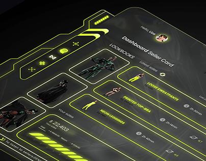 Dashboard Seller Card