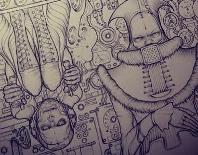 Ohm - Book Illustration snips