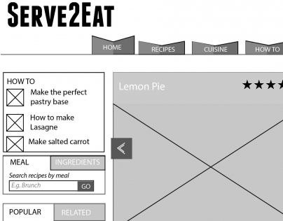 Serve to Eat UX