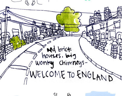 Ellie's England: A Norwegian Perspective