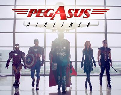 PEGASUS & MARVEL - AVENGERS SAFETY VIDEO