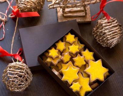 Sweety sweets for «Sladkaya Lavka» homemade bakery
