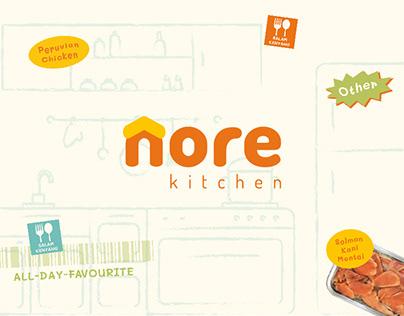 Nore Kitchen Rebranding