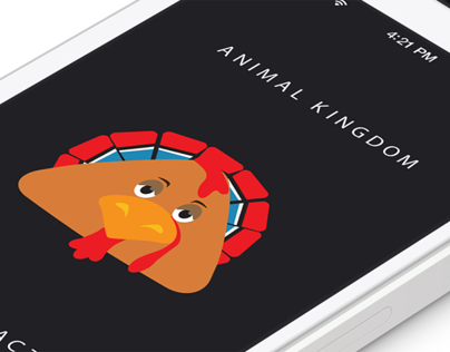 "Design of a characters for ""Animal kingdom"" iOS game"