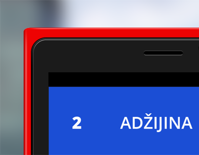 Zagreb transport windows phone app UI redesign