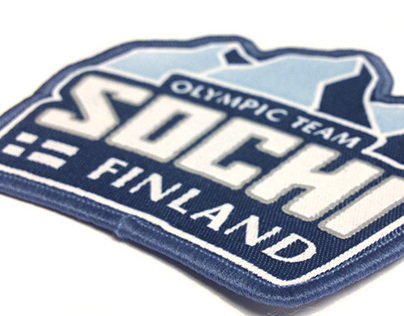 Logo for Finnish Olympic Team for Sochi Olympic Games