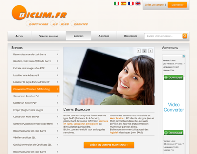 [Webdesign] Biclim