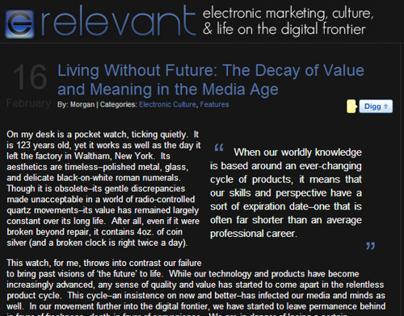 erelevant: Electronic Marketing Blog (2006 - 2011)