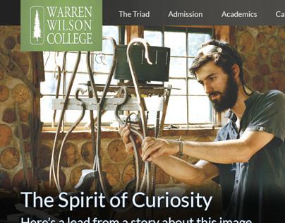 15 Years of Web Design for Warren Wilson College