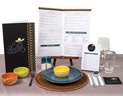 El Panchos - Restaurant Graphics and Menu Design