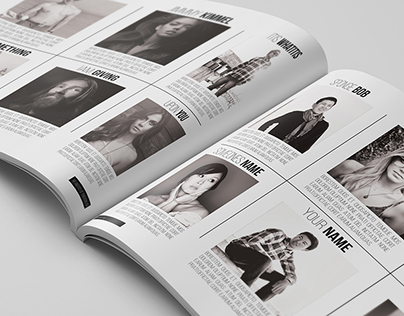 Black & White Yearbook