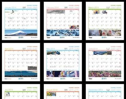 Calendar Design :: Malaysian Harvest