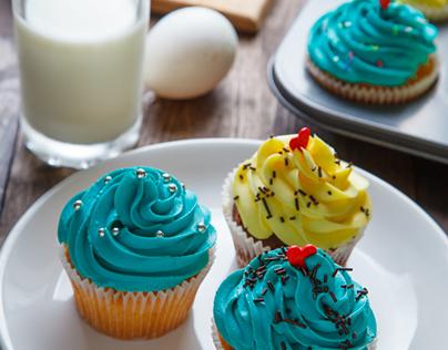 Cupcakes of bakery Cappa Cake