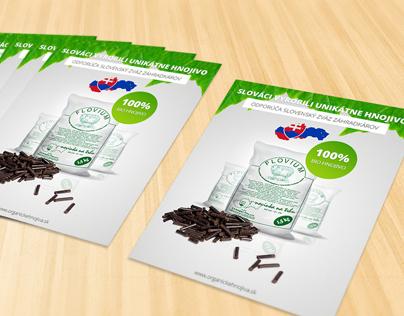 Organic Fertilizer flyer