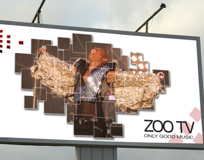 ZOOTV  promotion: logo, identity, billboard, animation