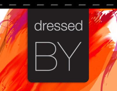 dressed.by - Logo & Webdesign