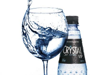 Anuncio para encarte - Água Crystal