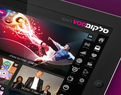 Cellcom VOD app