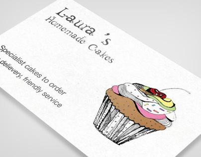 Laura's Homemade Cakes (Rebrand)