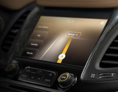 In-Dash Navigation for Chevrolet