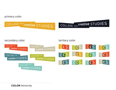 College For Creative Studies Rebrand