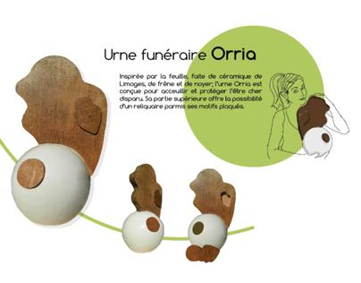 Orria, urne funéraire (Céramique/coulé-revidé)