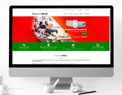 Support Desk // web design