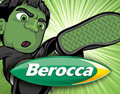 Berocca Boost - Ninja Illustration for Webisodes