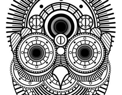 Mandala Animals - Mjulien