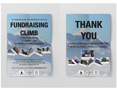 Fundraising Posters
