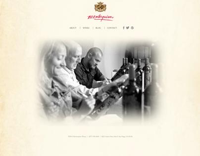 Montesquieu Website Redesign