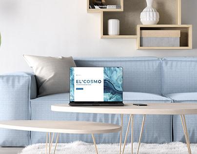 Веб-сайт для косметологии El'Cosmo