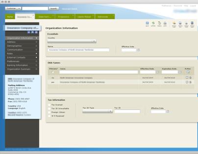 Application - enterprise B2B
