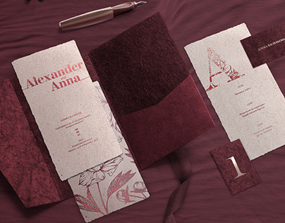 AA | Wedding invitation