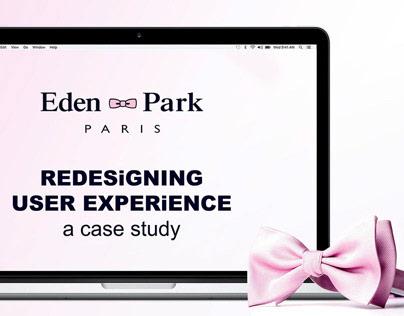 「UX」Eden Park   A case study