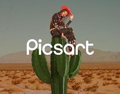 Picsart Rebrand