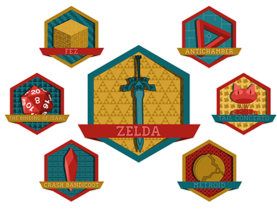Video games Badges