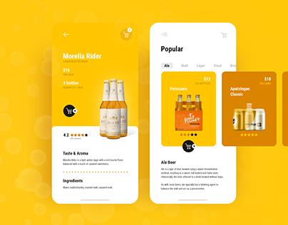 Brewlivery - Beer Delivery Service (Branding & UX/UI)