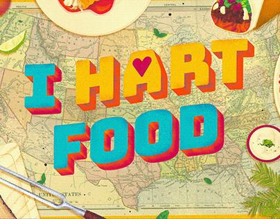 Illustrations for I Hart Food