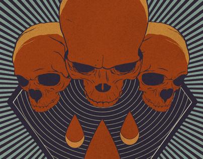Psycho skulls